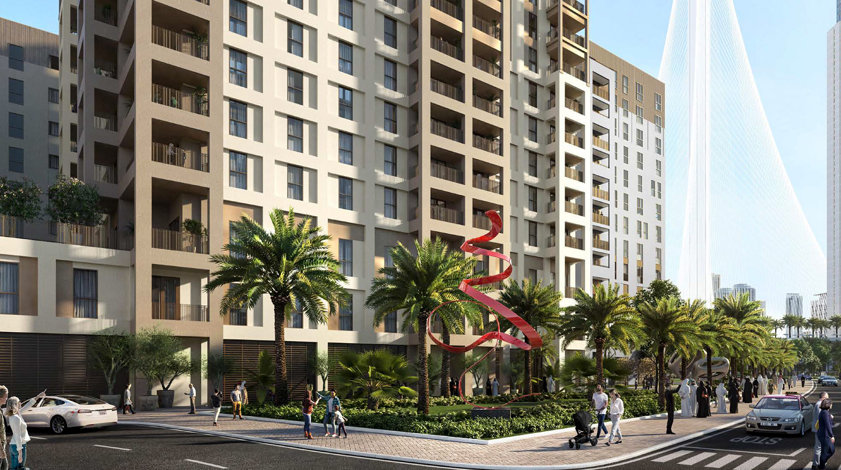 Bayshore Apartments by Emaar amenities